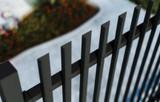 Vertical Semi-Privacy Slat-Fence