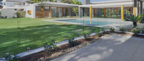 Choosing Your Spigot Finish For a Frameless Glass Pool Fence - Satin or Polished?