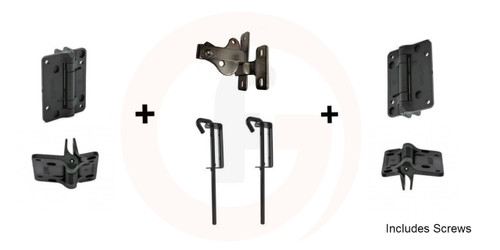 Double Gate Standard fittings set