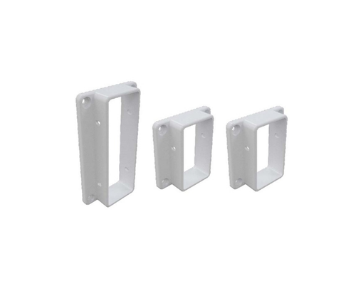 Semi Privacy Fencing Brackets (Pack of 3 with 8 screws)