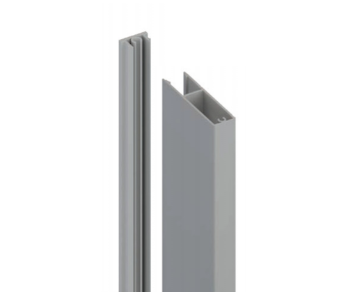 65x17mm Batten Front and Back Clip - 6100mm long