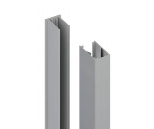 51x30mm Batten Front and Back Clip - 6100mm long