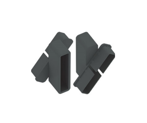 Fixed Louvre Brackets - Pack of 2