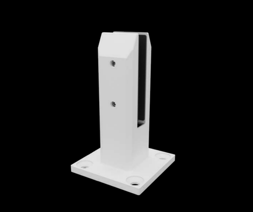 Square Custom Colour Base Plated Spigot - Includes Cover Plate!