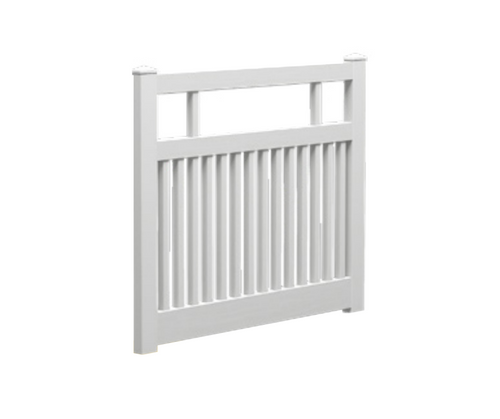 Semi Privacy Gate - 1500mm W x 1200mm H (POSTS SOLD SEPARATELY)