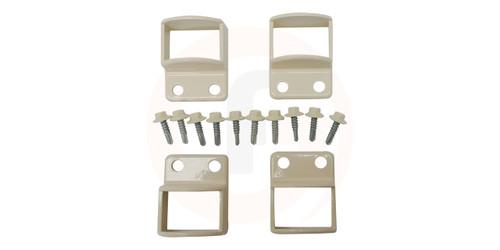 Aluminium Primrose Fence Panel Fittings