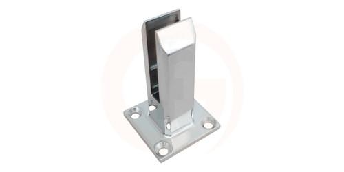 Base Plated Balustrade Grade Spigot 50mm x 45mm Square