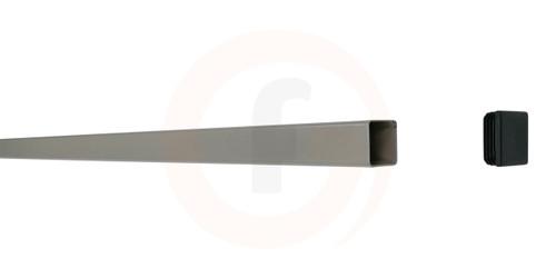 Aluminium Fence Post with Cap 1.8m