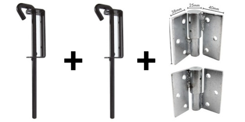 Upgrade a single gate kit to a double gate kit.