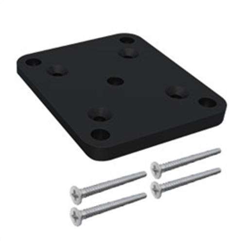 Base Plate Kit fits to 65x65mm SlatFence Post with 4 x 50mm screws.