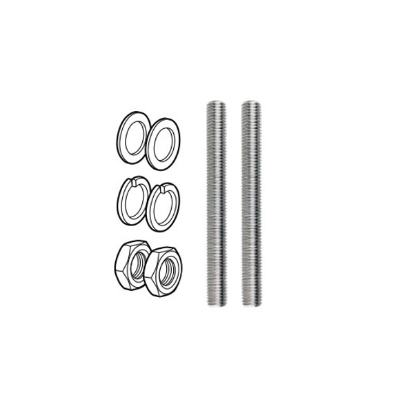 M12x120mm Stainless Steel Threaded Rod for use with Premium Face Mounted Spigots - 2 Required Per Spigot