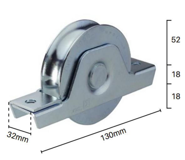 Heavy Duty Sliding Gate Wheel Tech Info