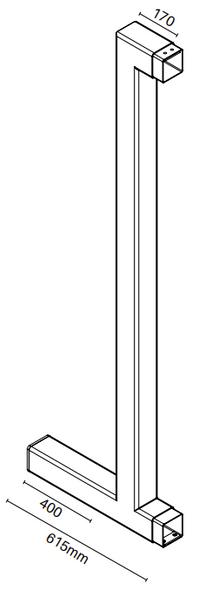 Extended Side Stile for Motorised Gate Tech Info