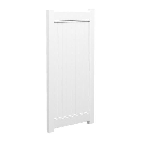 Full Privacy PVC Gate - 1000mm W x 1800mm H