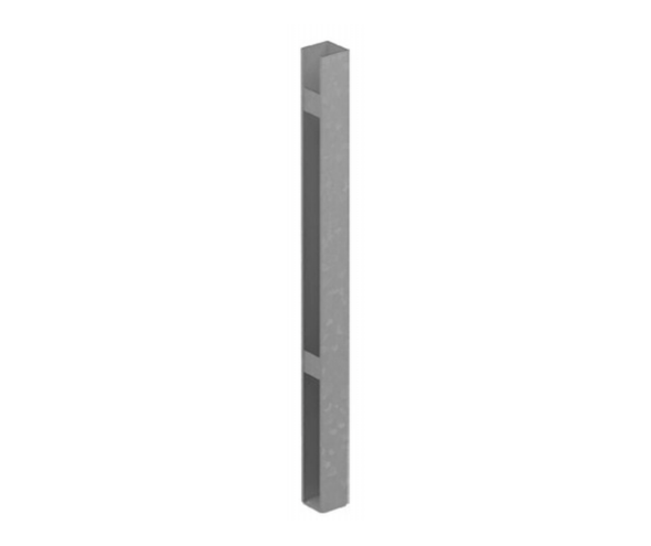 Concealed Heavy Duty Base Plate for Gate Posts - 1750mm long