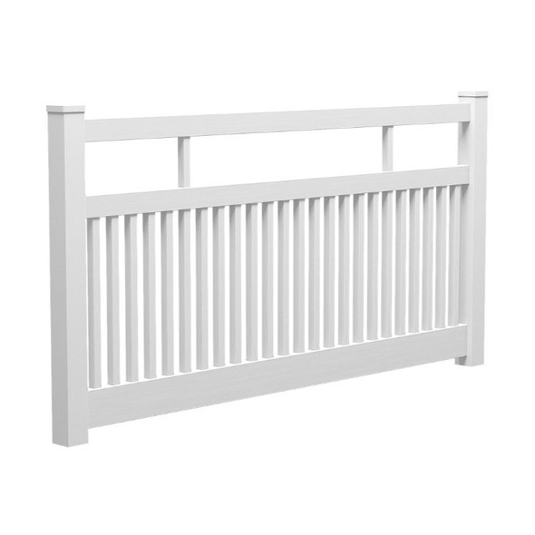 Semi Privacy Fence Panel - 2388mm W x 1200mm H