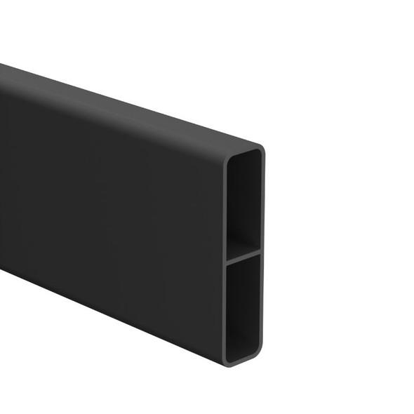 65mm x 16.5mm Slat - 6100mm long - Black