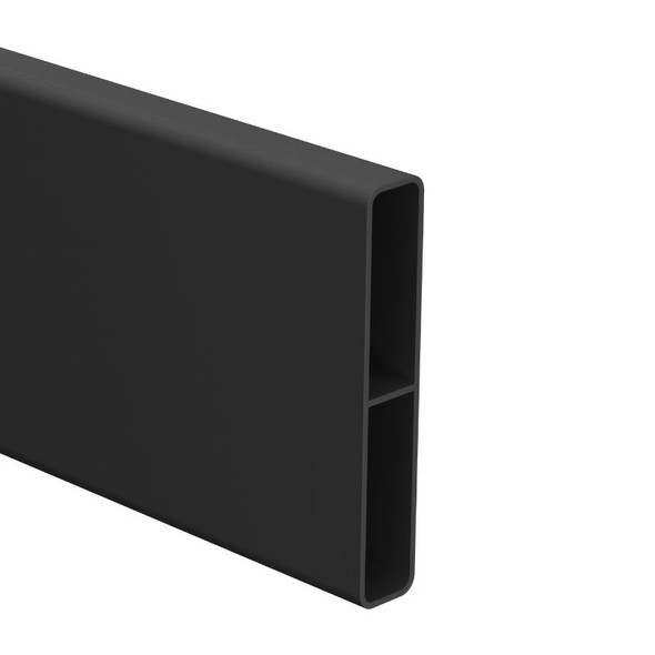90mm x 16.5mm Slat - 6100mm long - Black