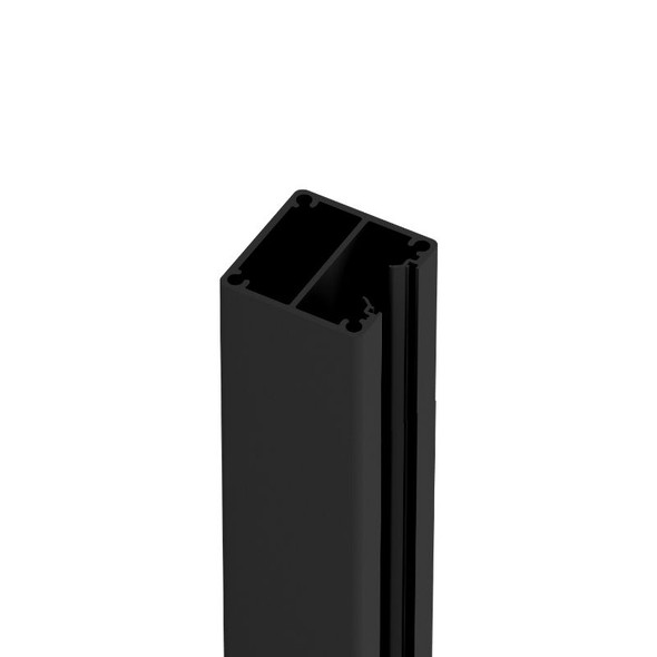 1 Way Post - 50mm wide x 2400mm/6000mm long - Black
