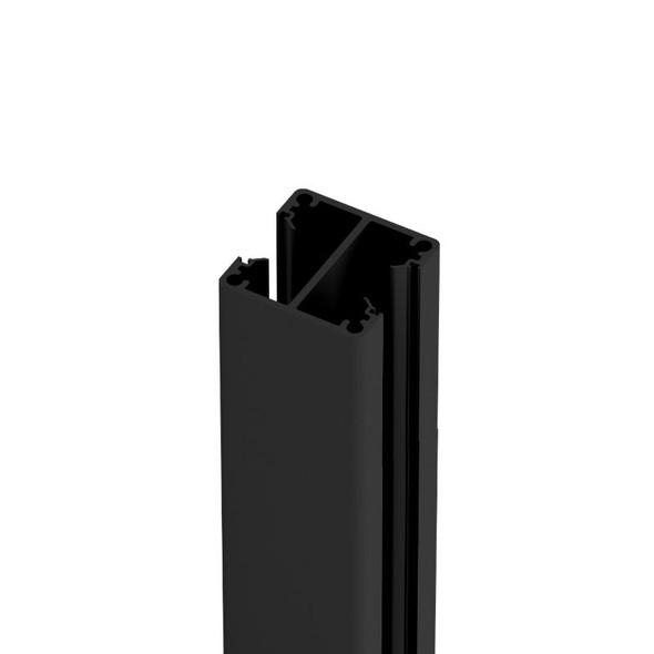 2 Way Post - 50mm wide x 2400mm/6000mm long - Black