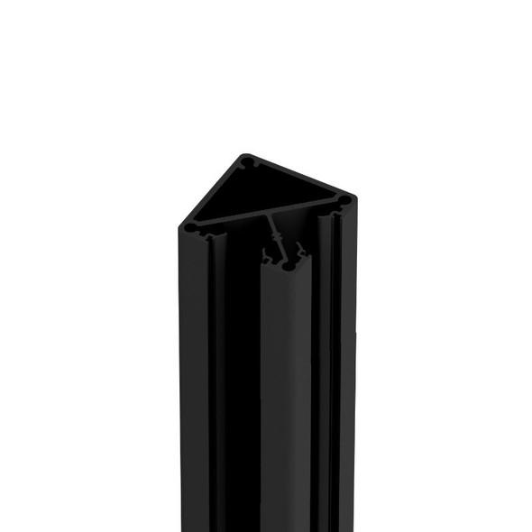 Corner Post - 50mm wide x 2400mm/6000mm long - Black