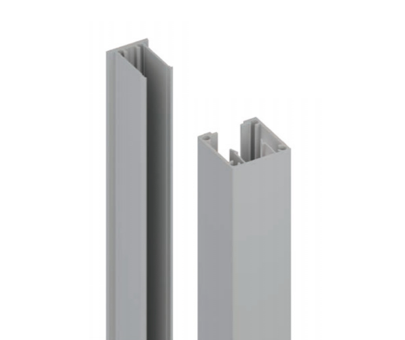 45x45mm Batten Front and Back Clip - 6100mm long