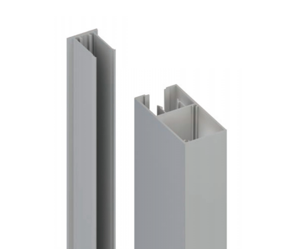 100x50mm Batten Front and Back Clip - 6100mm long