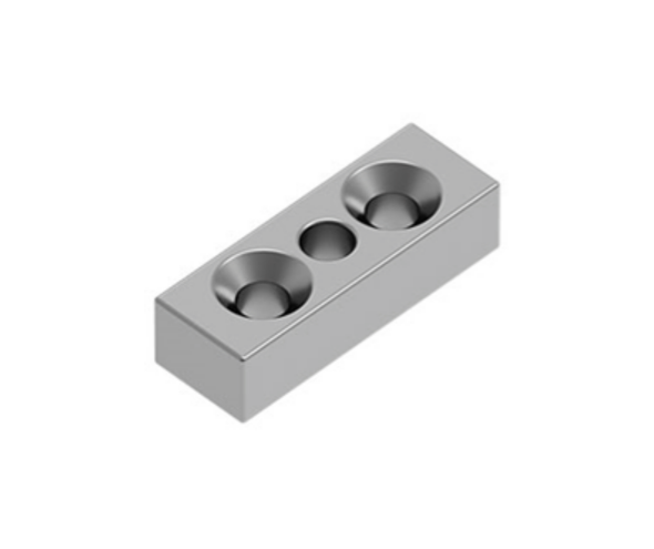 Vertical Support Rail Top/Bottom Plate - Choose your colour