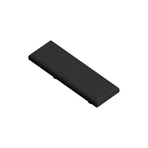 Vertical Support Rail Top Cap - Black