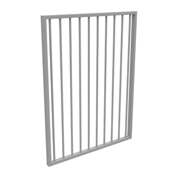 Silver Aluminium Pool Gate