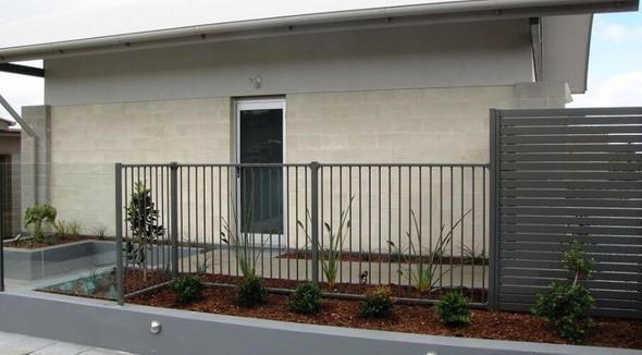 Woodland Grey Pool Fence Panel