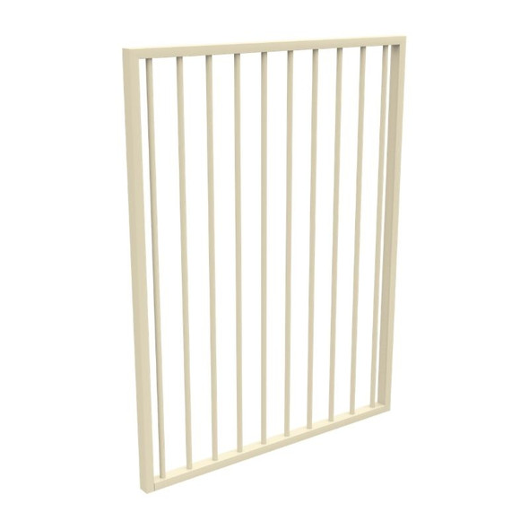 Single Gate Only (i.e. not a kit) - *970mm wide x 1.2m high - Primrose Cream