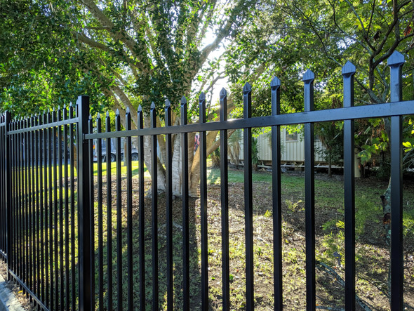 2100mm High Steel Security Fence Panel - Fence Guru Aus-wide Fast and Easy Fence Shop.