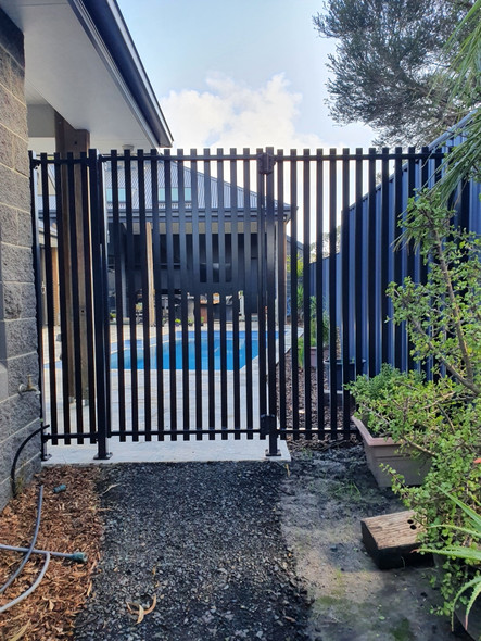 SlatFence 1.8m high Slat Fence is certified for pool fencing.