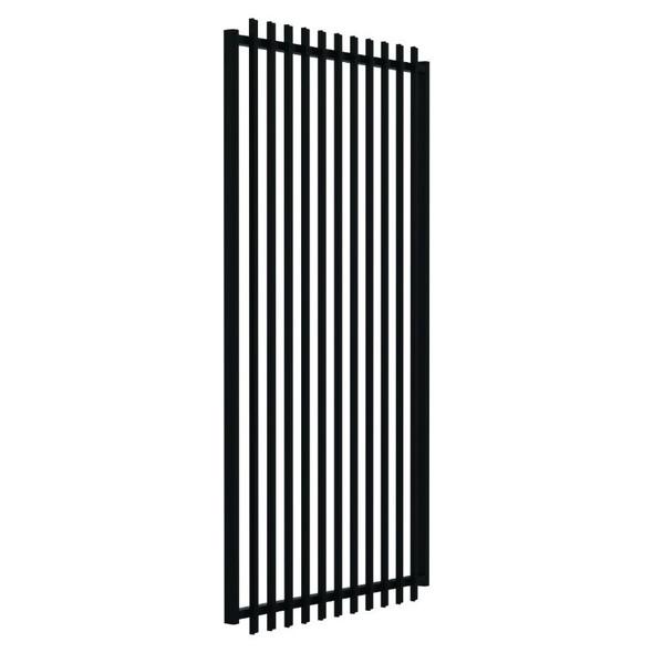 1.8m high SlatFence Pool Safe GATE - 1.8m high x 975mm wide, Black or Pearl White