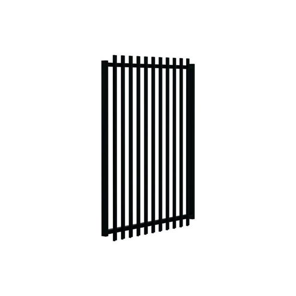 1.2m high SlatFence Pool Safe GATE - 1.2m high x 975mm wide, Black or Pearl White