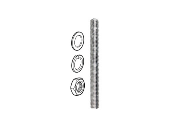 M18x120mm Threaded Rod Kit for use with Premium Face Mounted TILT Spigots