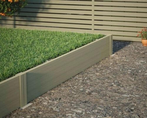 Aluminum Retaining Wall - Very Simple Installation