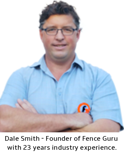Dale Smith - Founder of Fence Guru with 23 years experience.