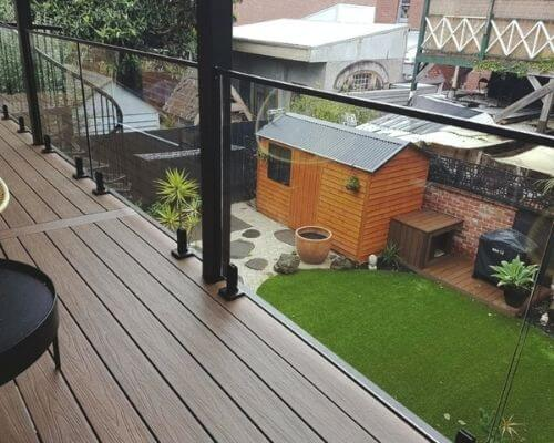 Heat Soaked Toughened Glass Balustrading