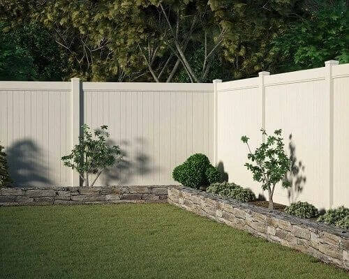 PVC Privacy, Semi Privacy and 3 Rail Fencing