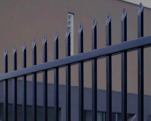 1.8m & 2.1m High Crimped Top Security Fencing
