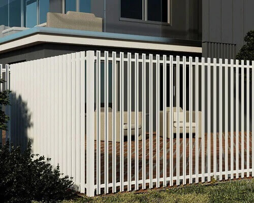 Vertical Slat Semi Privacy and Pool Fencing