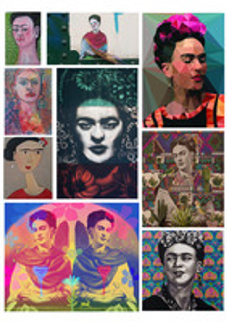 Artist Submissions -  #Find50Fridas  - SUBMISSIONS FULL!