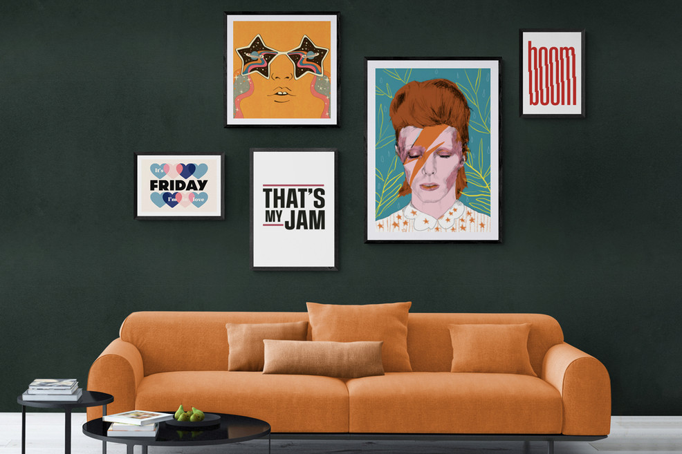 Soundtrack: The art prints that will take you back
