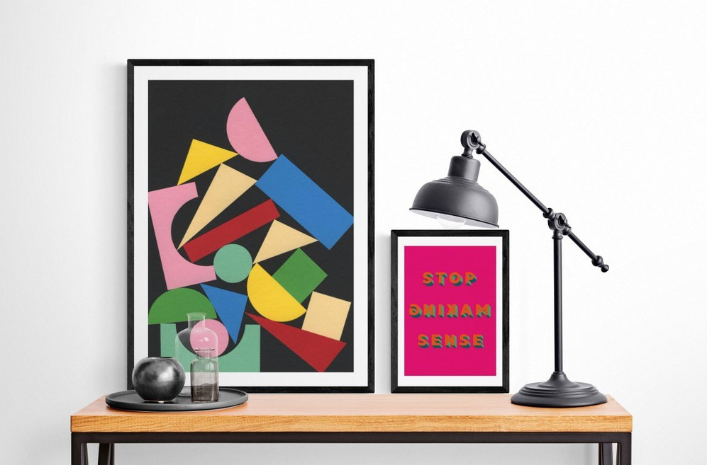 Ways art can help you work better from the home office