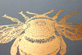 Bee Copper Print