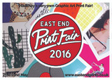 EAST END PRINT FAIR 2016 ARTIST LINE UP