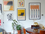 Ways to decorate with retro wall art