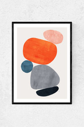 Colourful Abstract Twin Set by Tracie Andrews